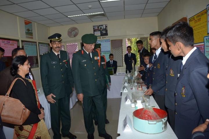 Rashtriya Military School-Science Fair