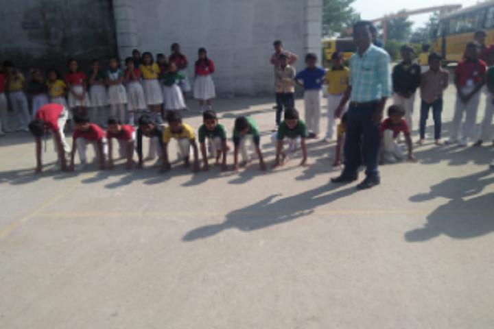 Laxmi Public School- Running Competition