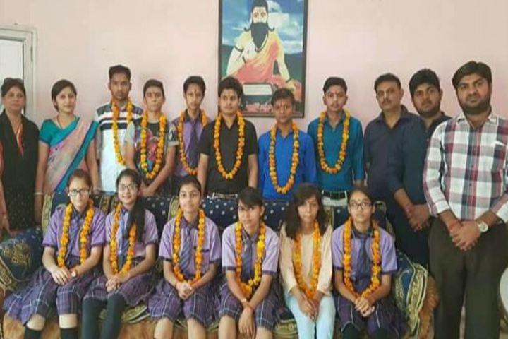 Rishi Galav Convent School-Felicitation