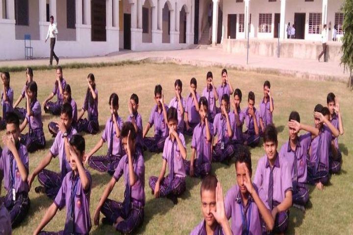 Rishi Galav Convent School-Yoga Class