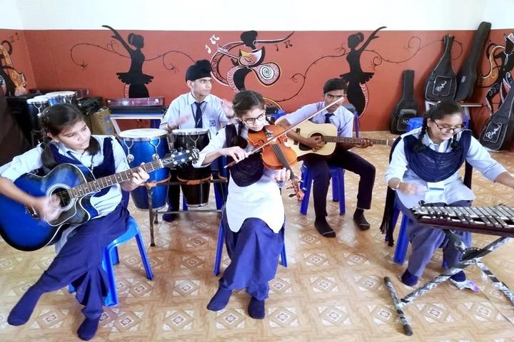 Roopnagar Public School-Music Room