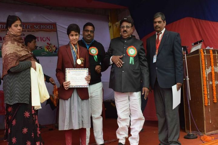 Lord Buddha Public School-Medal Distribution