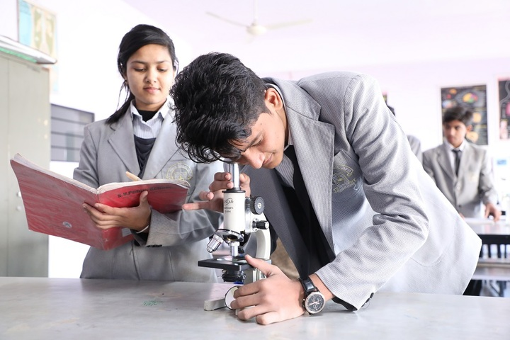 S V Public School-Biology Lab