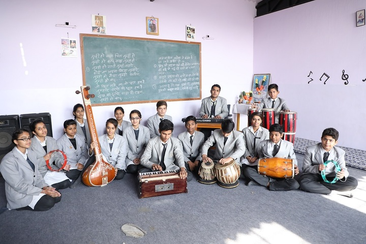 S V Public School-Music Room