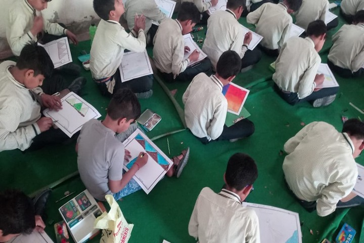 S R International Academy-Drawing Competition