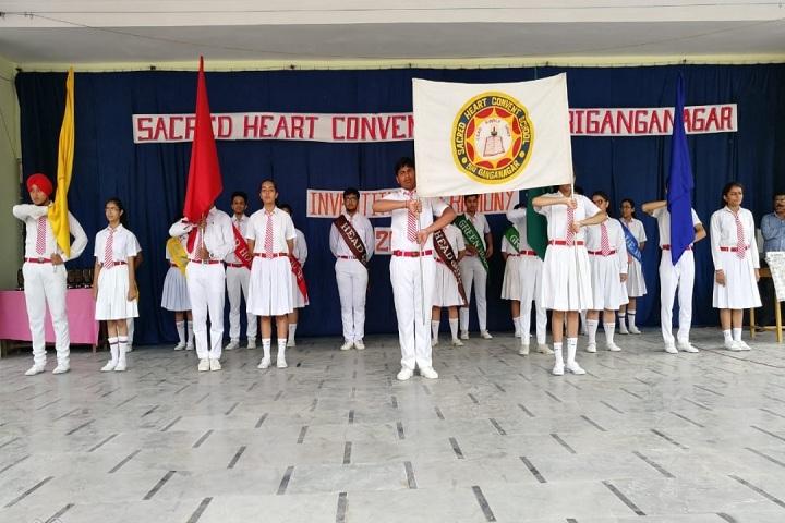 Sacred Heart Convent School-Investiture Ceremony