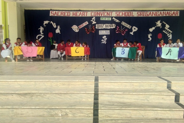 Sacred Heart Convent School-Quiz Competition
