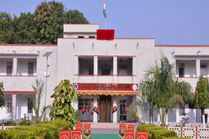 Sainik School-Building