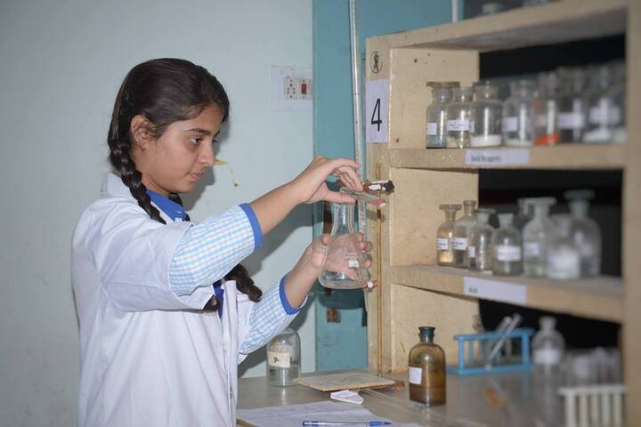 Saint Soldier Public School-Chemistry Lab