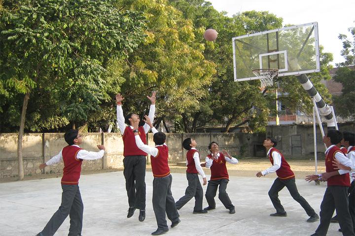 Saint Soldier Public School-Basket Ball Court