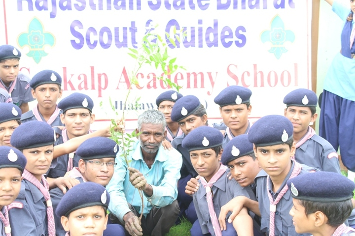 Sankalp Adademy Senior Secondary School-Scouts
