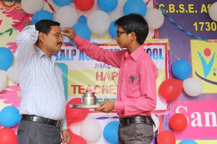 Sankalp Adademy Senior Secondary School-Teachers Day