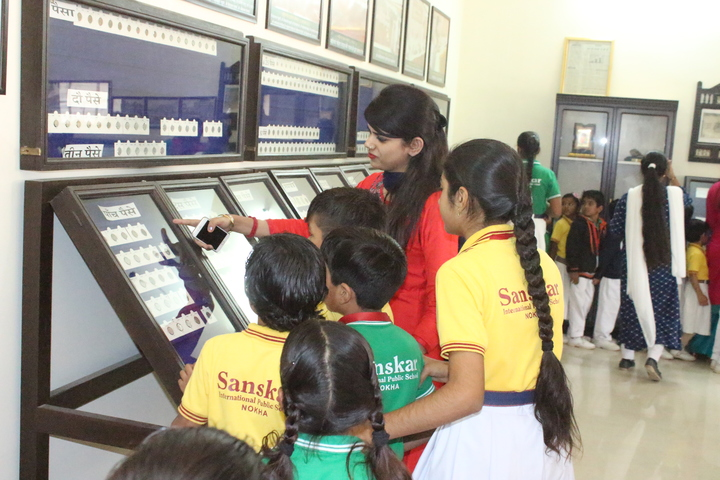 Sanskar International Public School-visit To Coin Museum