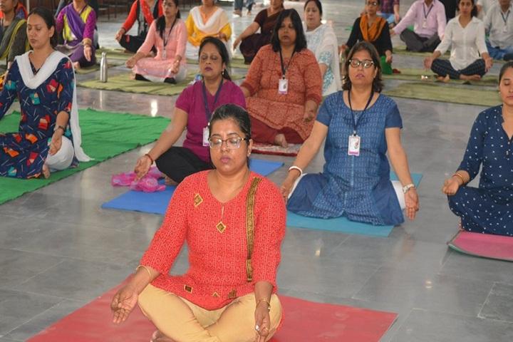 Litera Valley School-Yoga Day Celebrations