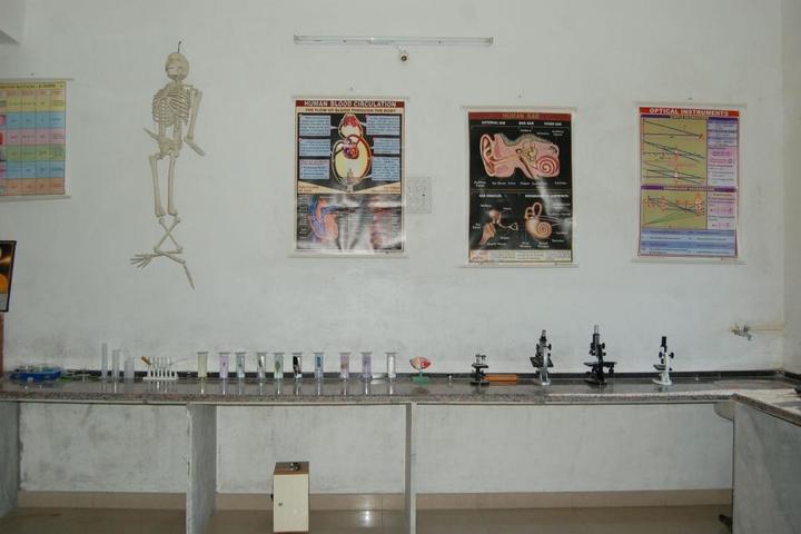 Sanskar The School-Biology Lab