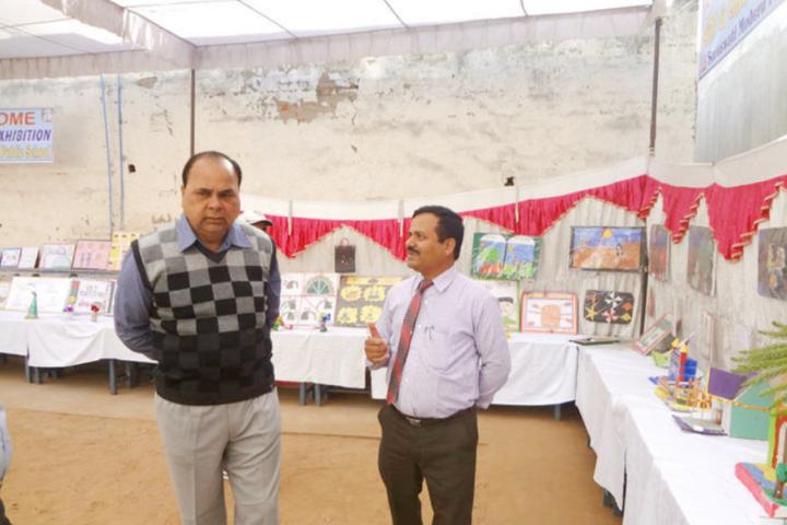 Saraswati Modern Public School-School Exhibition