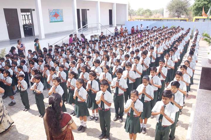 Saraswati Modern Public School-Assembly