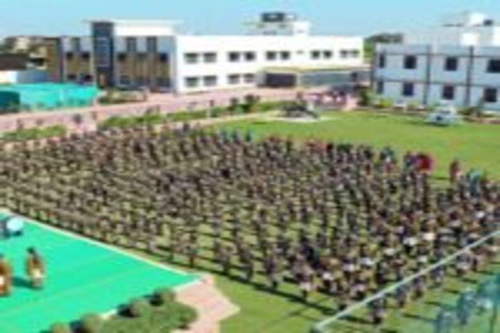Saraswati Shikshan Sadan Convent School-Assembly