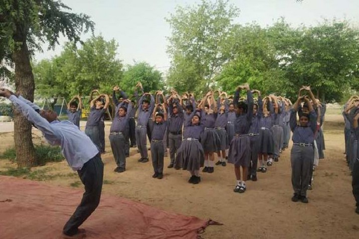 Sarvodaya Public School-Yoga