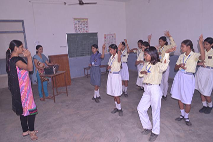 Sarvodaya Public School-Dance Class