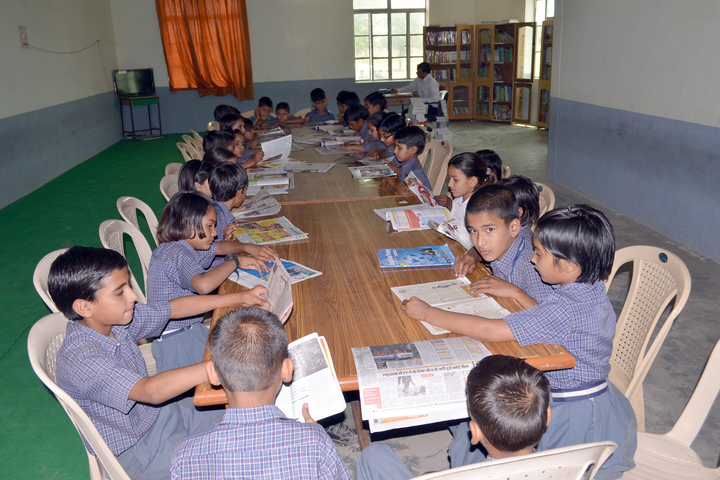 Sarvodaya Public School-Library