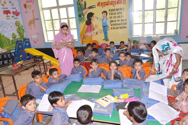 Sarvodaya Public School-Pre-Primary Classroom