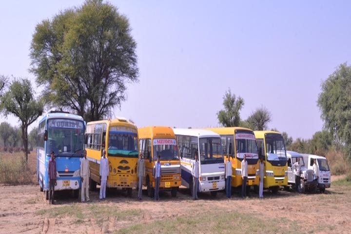 Sarvodaya Public School-Transport