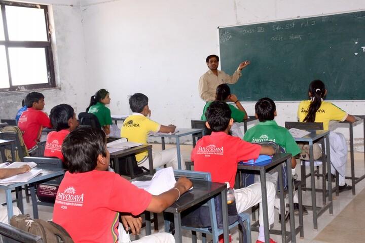 Sarvodaya Senior Secondary School-Classroom