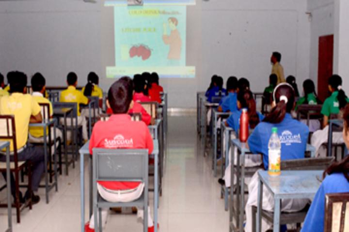 Sarvodaya Senior Secondary School-Smart Classroom