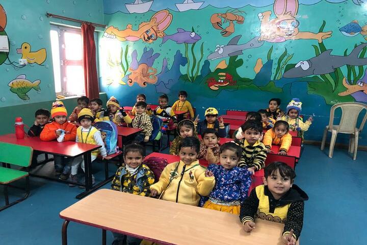 Satya Lakshya Euro World School-Classroom