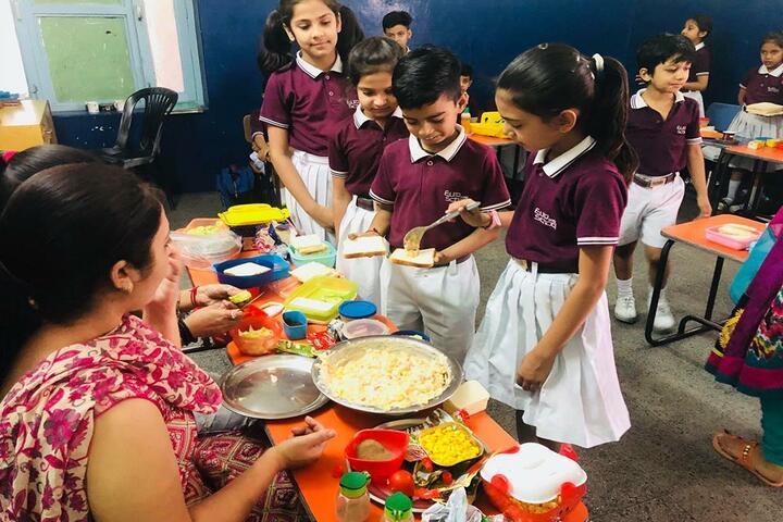 Satya Lakshya Euro World School-Food Fest