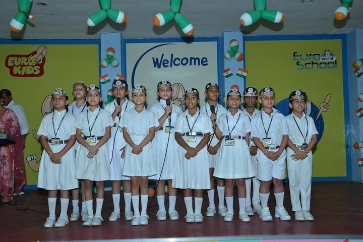 Satya Lakshya Euro World School-Group Song