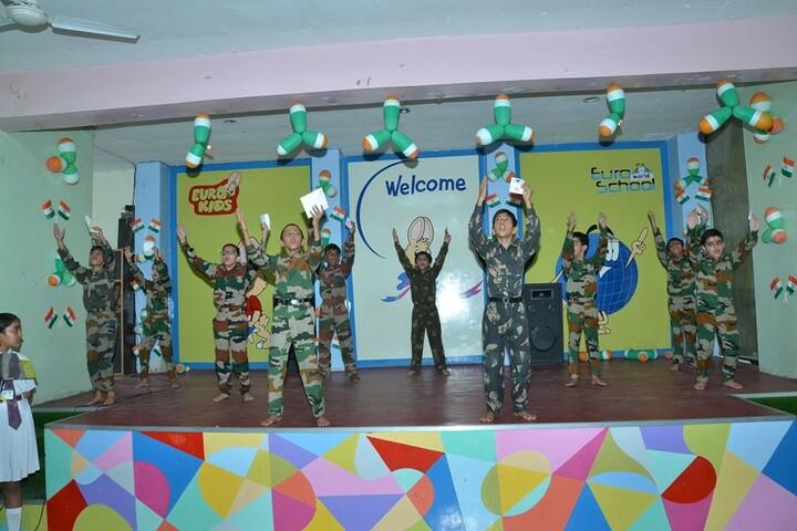 Satya Lakshya Euro World School-Patriotic Day