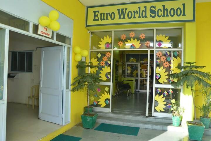 Satya Lakshya Euro World School-School Entrance