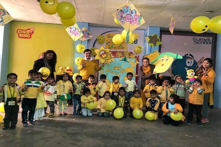 Satya Lakshya Euro World School-Yellow Day