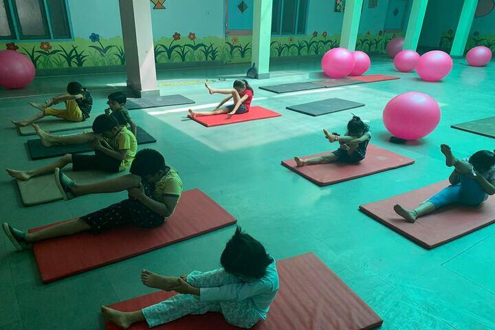 Satya Lakshya Euro World School-Yoga