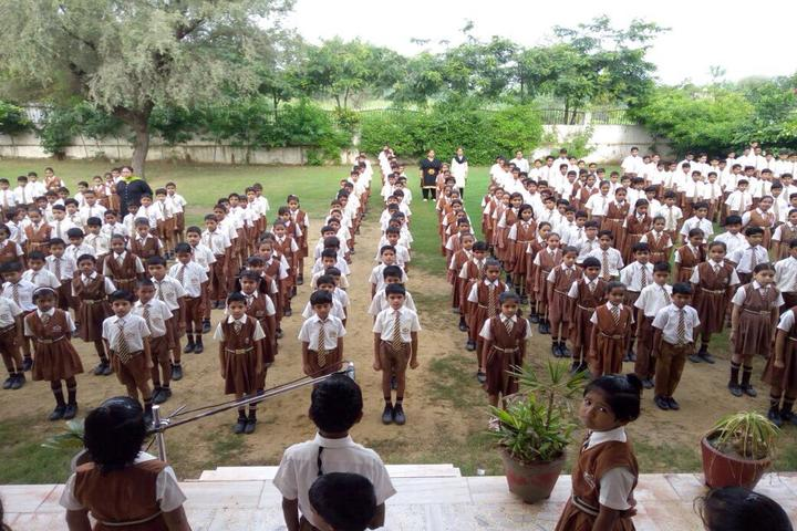 Sawai Man Singh International School-Assembly
