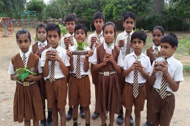 Sawai Man Singh International School-Plantation Activity