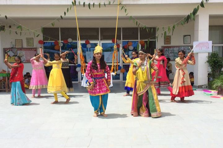SBS Convent School-Festival celebrations