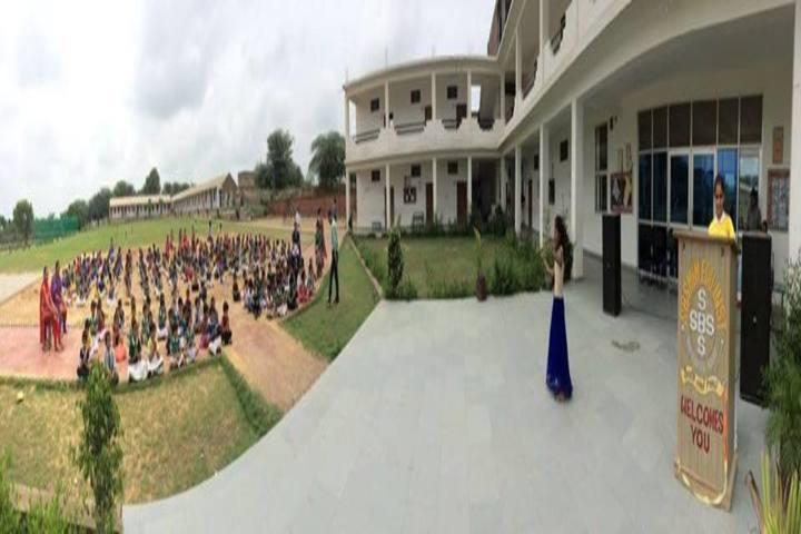 SBS Convent School-School View
