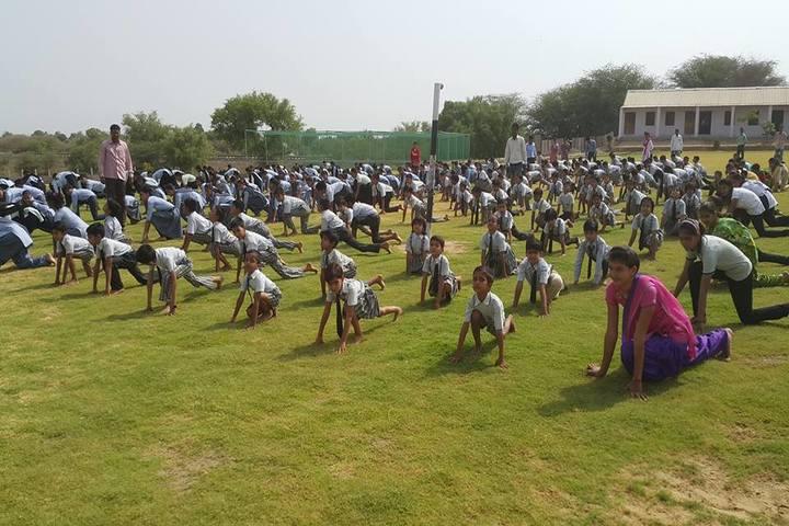 SBS Convent School-Yoga
