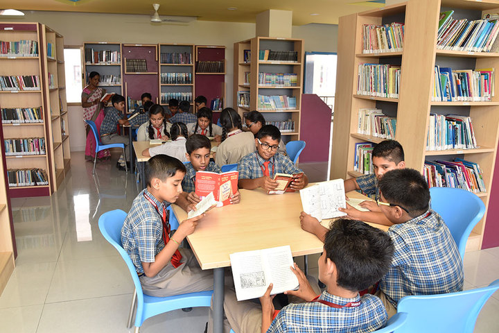 Seedling Modern Public School-Library