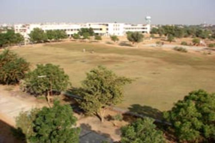 Sesomu School-Building Back View