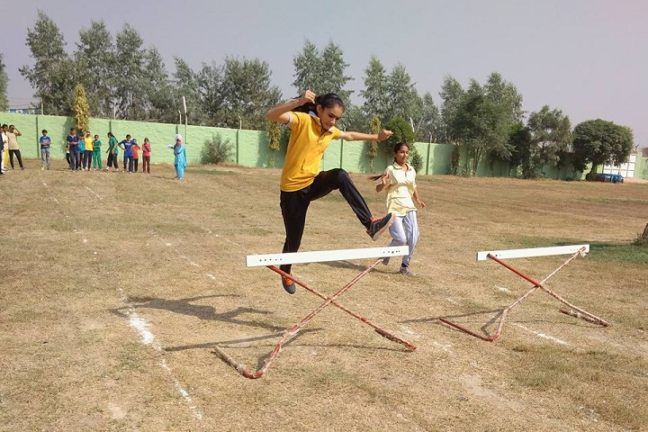 Shah Satmamji Girls School-Sports jump
