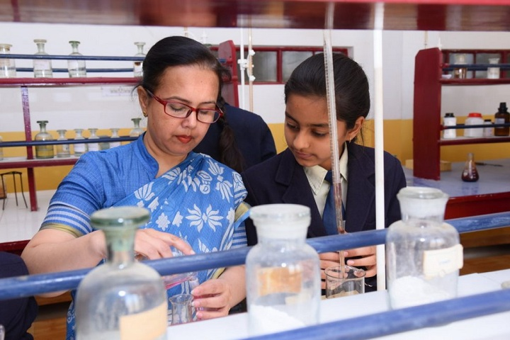 Shiksha High School-Laboratory chemistry