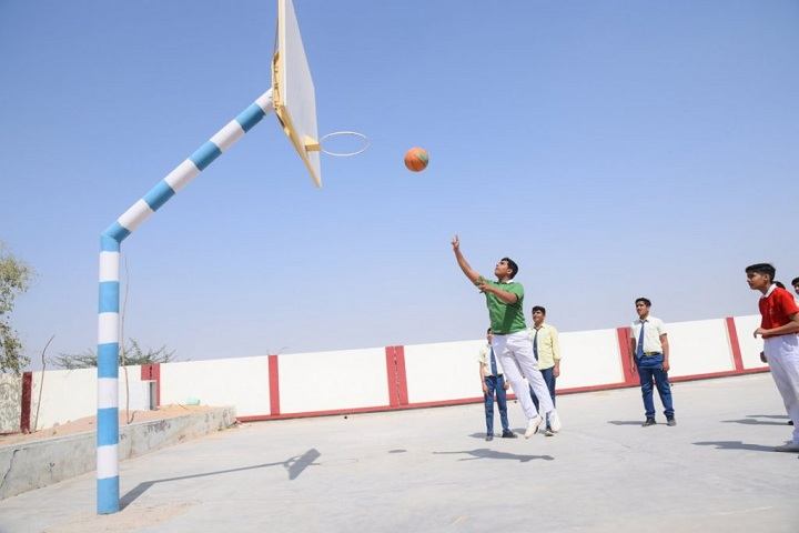 Shiksha High School-Sports basketball
