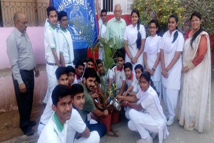 Shree Mahesh Public School-Others plantation