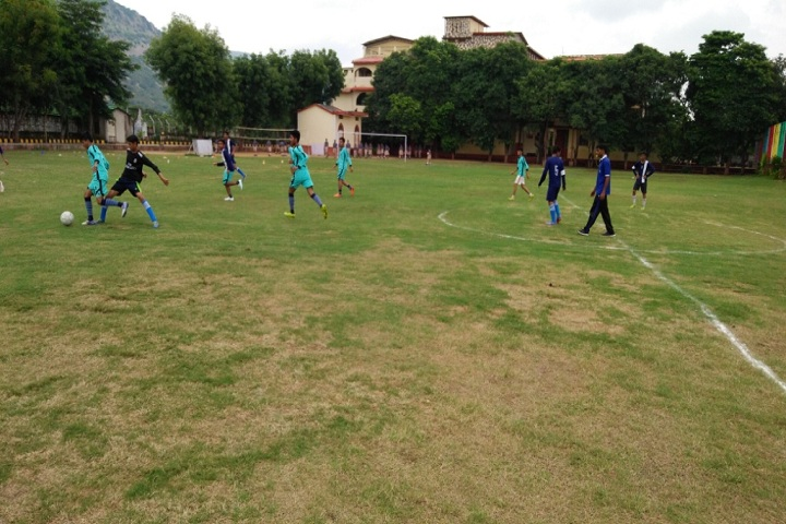 Silver Oak School-Sports football