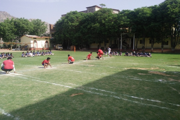 Silver Oak School-Sports kho kho