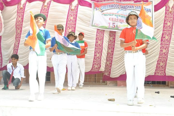 Sk Greenwood Shikshan Sanstan-Events independance day programme